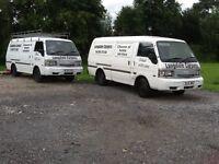 Mazda van diesel lwb 2 side doors good condition choice of 2