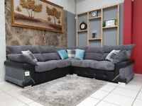 🤑 🤠 HIGH BACK LUXURY LOGAN CORNER AND 3+2 SEATER SOFA SET WITH FREE HOME DELIVERY🤑 🤠