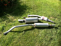 3 Piece Exhaust for Corsa/Tigra 94 to 00