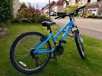 Girls DAWES Paris HT Mountain Bike 24 inch wheels amazing condition