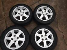 Mitsubishi Lancer CH 15 inch Alloy wheels x4 Dural Hornsby Area Preview
