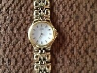 Ladies Citizen Gold Plated Watch