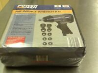 Power craft AIR IMPACT WRENCH KIT