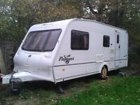 Bailey Pageant Loire 2004 Caravan with Power Touch Motormover