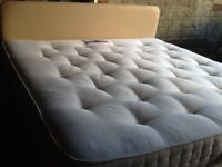 Super King sized double bed (6 feet) and headboard