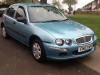 2003 Rover 25l 1.4 long mot 1 owner 2 x keys BARGAIN!!!!