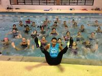 AQUA ZUMBA! Exciting, Invigorating! Every class is a POOL Party!