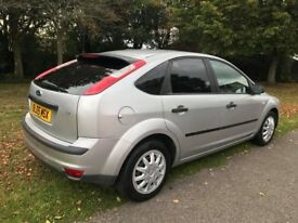 Silver Ford Focus 2005 - LOW MILEAGE