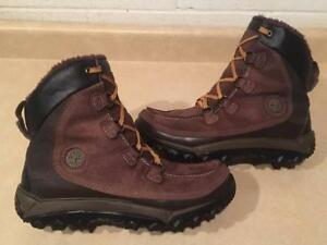 Men's Size 9.5M Timberland ThermoLite Leather Winter Boots