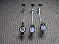 3 X Bar Optics and Measures