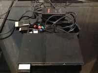 SONY PS2 SLIM GAMES CONSOLE