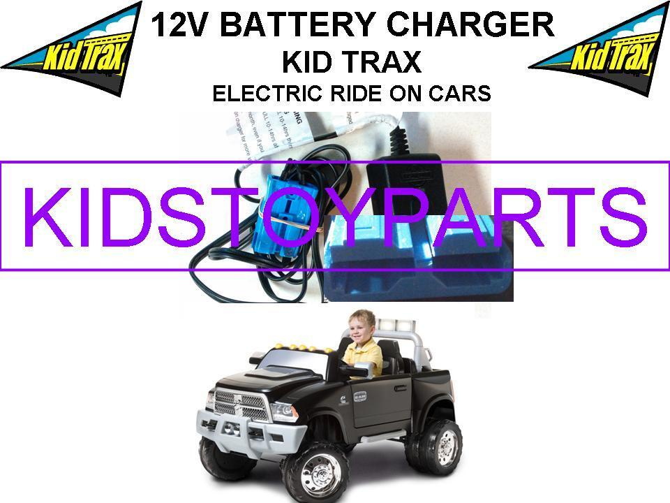 12 Volt Battery Charger for the KID TRAX DODGE RAM DUALLY W/