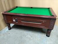 6x3 Imperial Slate Bed Pool Table. New Recover & Accessories - Coin Op - Free Local Delivery