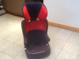 Lightweight group 23 car seat for 15kg upto 36kg full highback height adjustable car seat-washed