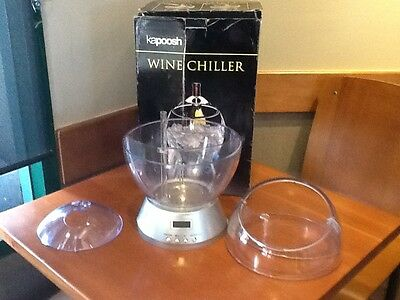 New Kapoosh WC100 Electric Single-Bottle Wine Chiller
