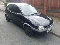 corsa 1.2 with mot till may 2017 drives perfect no faults£250 no offers