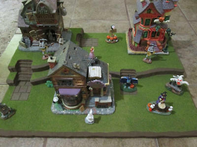 Halloween Christmas Easter Village Display Platform Base HW34 - Dept 56 Lemax (Halloween Village Display Base)