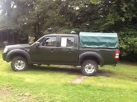 Ford Ranger Double Cab 4x4 2.5 TDCI Ex Forestry Commission Specialist Vehicle