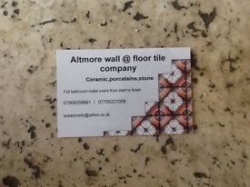 Call us for all your tiling needs