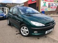 **ONE-OFF EXAMPLE** PEUGEOT 206 ROLAND GARROS 1.6 (2001) - 5 DOOR - PAN ROOF - LEATHER - HPI CLEAR!