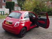 Fiat 500 pop, 1.2, 21k miles, 1 previous owner, full service history, 2 keys, mint condition