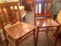 18 Old Fashioned Wooden Chairs