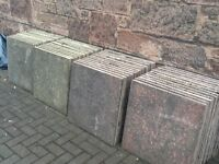 Yellow and pink slabs