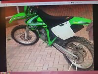 ROAD LEAGAL KX 125 2 STROKE FOR SALE OR PX 85 125 250 ??