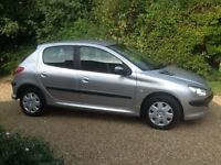 Peugeot 206 1.1 Met Silver