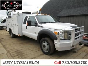 2013 Ford F-550 Ext.Cab Service Truck