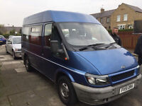 51 PLATE FORD TRANSIT MINI BUS TAXED AND TESTED DRIVE AWAY ONLY