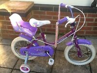 Raleigh bike - Age 3 - 6 years (approx.)