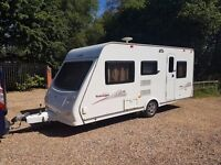 2010 Elddis Tobago 495 5 berth caravan MOTOR MOVER, Awning Light to tow !