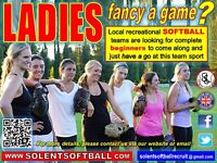 LADIES - fancy a game ?