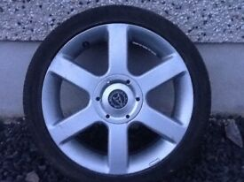 17INCH 4/108,4/100 MULTIFIT WOLFRACE VODOOS ALLOY WHEELS FIT PEUGEOT CITREON FORD ETC WITH TYRES