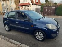 2006 Ford Fiesta 1.25 Style 5dr Hatchback Petrol ULEZ Exempt Long MOT & Two former owners