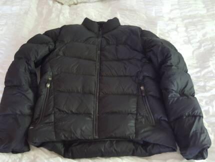 Macpac men's down jacket - Size S - black