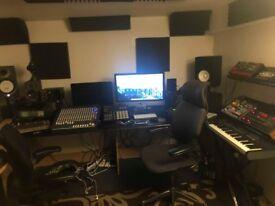 AMAZING SOUNDPROOF MUSIC STUDIO IN ALBION ROAD N16!!!