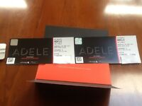 Adele tickets standing 28 June x 2 £150 each