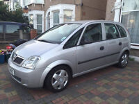 2003 VAUXHALL MERIVA - 2 OWNERS - 2 KEYS - NEW ENGINE - HPI CLEAR - £350 VERY CHEAP!!!