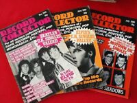 Record Collector Mags May 1980 to April 1993