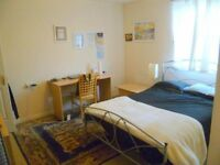 Beautiful ensuite double bedroom available - Quiet location in Leith