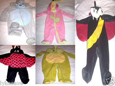 NEWBORN & INFANT HALOWEEN COSTUME SLEEPER PUPPY/ DRACULA/LADY BUG/FLOWER/DRAGON - Newborn Ladybug Costume