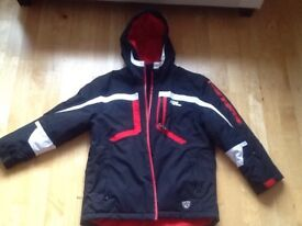 No Fear Ski Jacket Age 13 and One size Men's Ski tubes brand new.