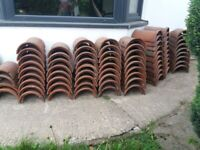 Classic roof / wall capping? tiles x 70 plus free delivery..