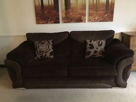 Large 3 Seater Sofa (two available)
