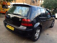 VW GOLF 2.0 GTI 2002 YEAR GOOD CONDITION FULL LEATHER SEATS