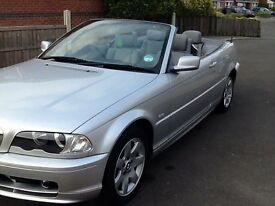 BMW 318 Convertible 52 reg Automatic Low Miles