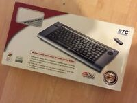 MCE Wireless Keyboard (integrated mouse & remote)
