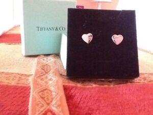 Tiffany & Co Mini Heart Earrings